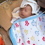【衝撃】北京市内のスーパーで新生児が放置されているのが発見される!
