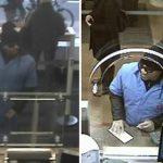 ブルーのジャンプスーツで1日に5つの銀行襲った男逮捕!