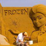 ベルギーで行われた砂の彫刻のイベントがすごい!!!海外の反応「美しい芸術だ……」