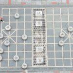 中国将棋のベンチ