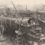 第一次大戦 ドイツ潜水艦の内部