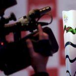 オリンピックの聖火を消そうと試みた男がブラジルで逮捕されました。