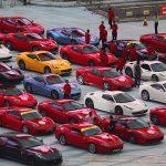 中国でフェラーリのパレードが開催される!!!