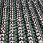 中国で同時に1000人がフェイス・エステを受けるという記録が作られ、ギネス記録に認定される