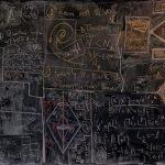 名門大学の数学の講義の黒板に芸術性を見出した写真家
