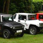 イギリスのベンチャー企業がアメリカのハンヴィーを電気自動車化して販売