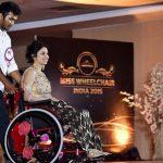 ミス車椅子インド2015