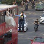 空中結婚式